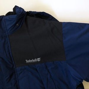 Mens Timberland Heavy Down Coat Navy - size XL